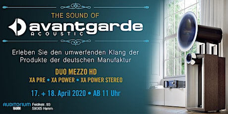 The Sound of AVANTGARDE ACOUSTIC Tickets