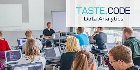 TASTE.CODE Data Analytics Tickets