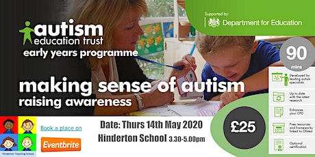 AET: Making Sense of Autism - Early Years tickets