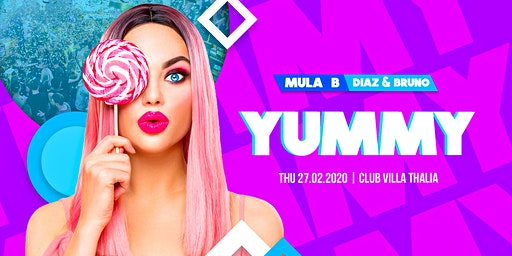 YUMMY ✘ Mula B [Live] | Diaz & Bruno