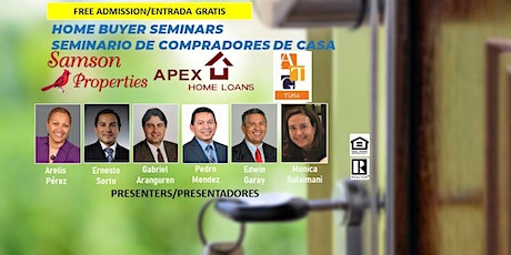 Free Home Buyer Seminars (ENGLISH ONLY/SOLO INGLÉS) tickets