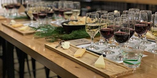 Cheese Tasting Class, Red Wine Pairing
