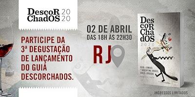DEGUSTAÇÃO  de lançamento - GUIA DESCORCHADOS 2020  - RIO DE JANEIRO