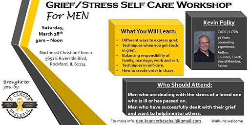 Grief/Stress Self Care Workshop For MEN