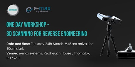 One Day Workshop - 3D Scanning for Reverse Engineering tickets