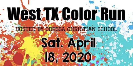 West Texas Color Run tickets
