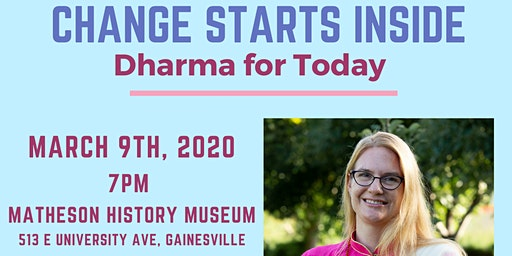 Change Starts Here: Dharma for Today