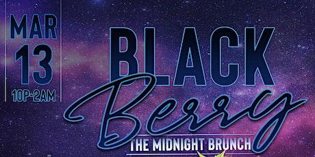 Blackberry The Midnight Brunch tickets