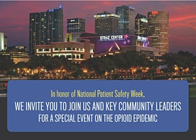 Opioid Epidemic Special Event in honor of National Patient Safety Week
