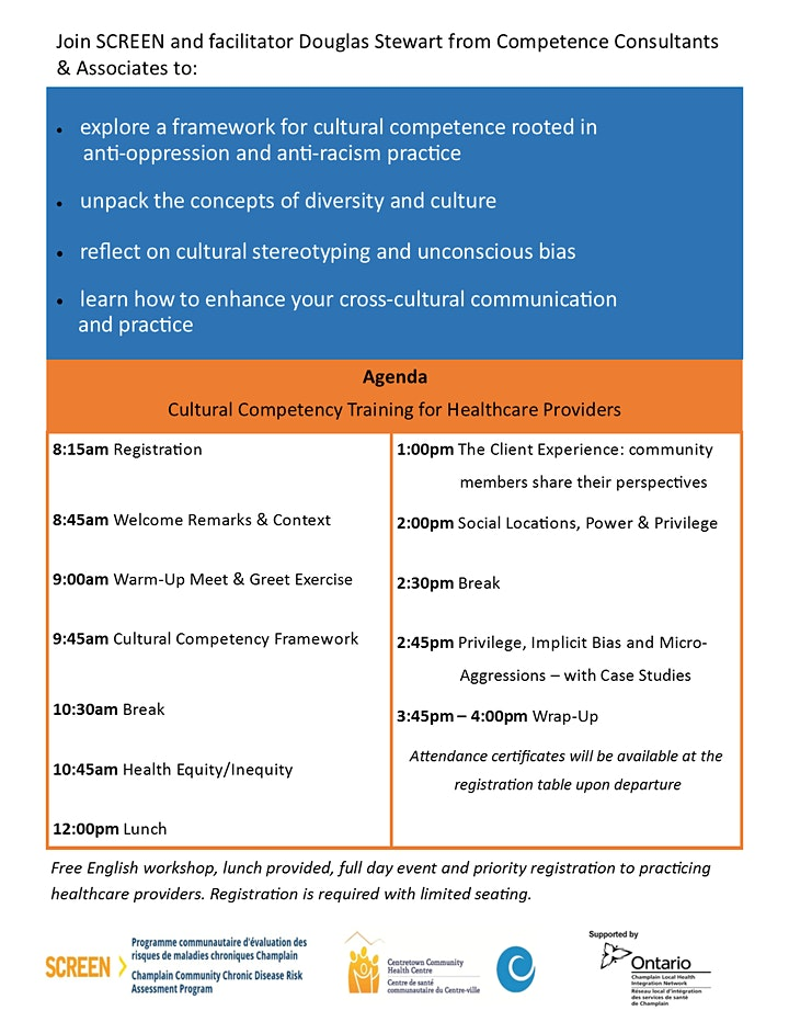 *EVENT POSTPONED* Cultural Competency Training for Healthcare Providers image