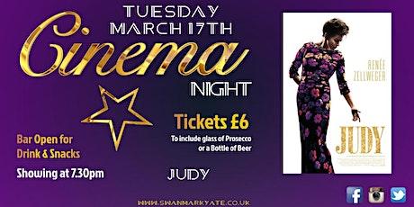 CINEMA NIGHT - Judy tickets