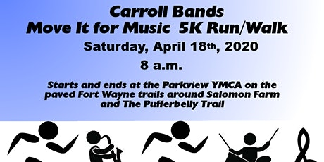 Carroll Bands MOVE IT FOR MUSIC 5K tickets