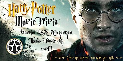 Harry Potter Movies Trivia at Growler USA Albuquerque