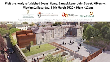 V1: Visit the newly refurbished Evans' Home at Barrack Lane, John Street