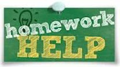 Homework Help tickets