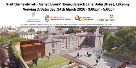 V3: Visit the newly refurbished Evans' Home, Barrack Lane, John Street, KK tickets