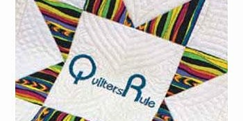 Patricia Simmons Quilters Rule Template Mania Day