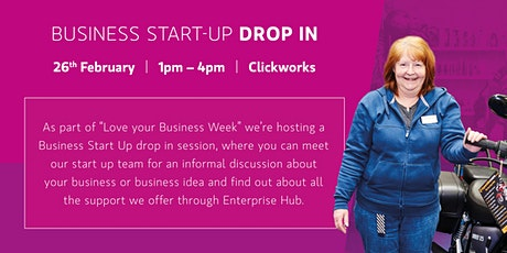 Business Start Up Drop in tickets
