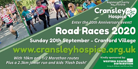 Cransley Hospice Road Races 2020 tickets