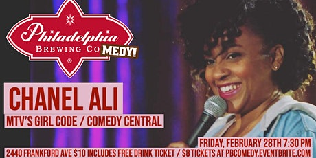 Philadelphia Brewing Comedy with Chanel Ali tickets