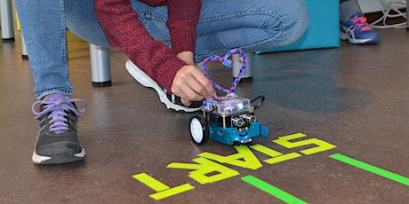 Robotics: einen Roboter bauen und selbst programmieren Tickets