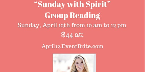 """""""Sunday with Spirit"""" Small Group Mediumship/Psychic Readings with Susan Schueler"""
