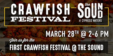 Crawfish Festival at The Sound tickets