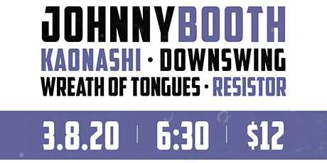 Johnny Booth tickets