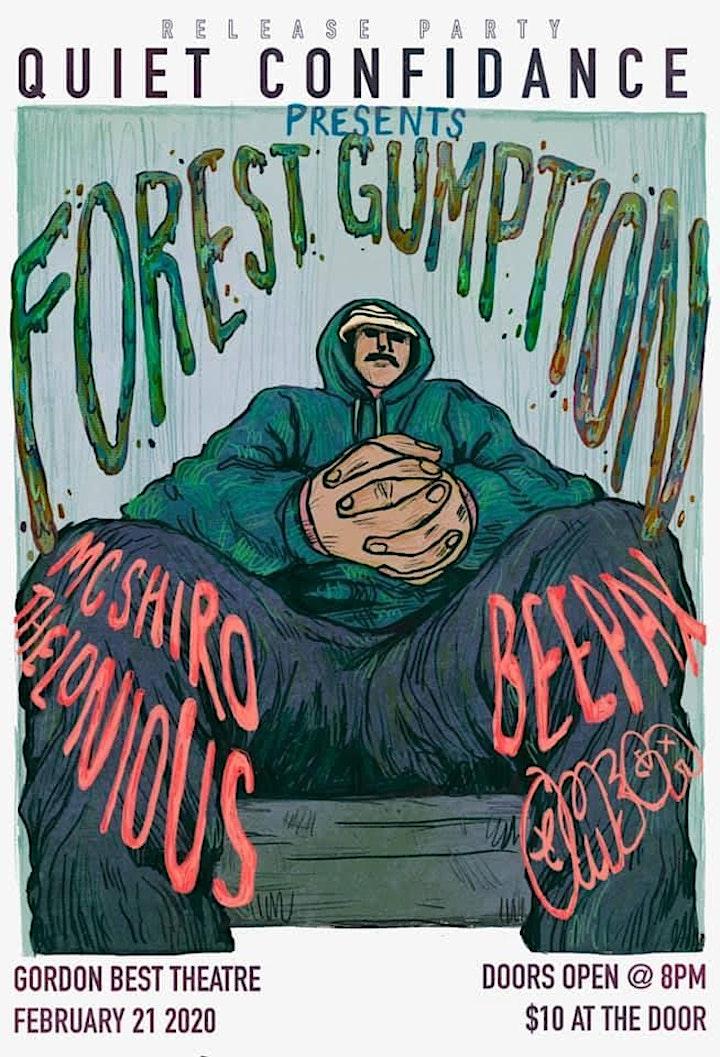 """Quiet Confidance Apparel x Forest Gumption """"Lofi Til I Die"""" Release Party image"""