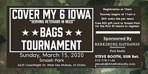 Cover My 6 Bags Tournament