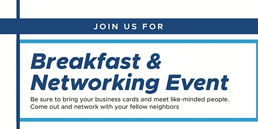 Breakfast & Networking Event