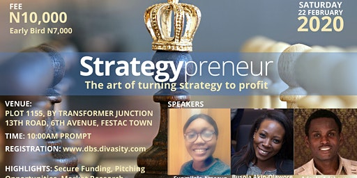 Strategypreneur: The Art of Turning Strategy to Profit