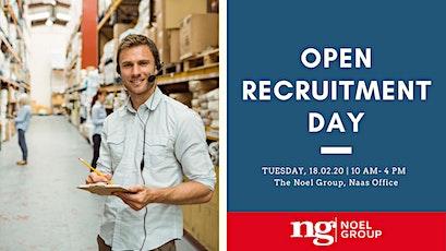 Open Recruitment Day - Warehouse job opportunities tickets