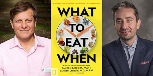 What to Eat When with Dr. Michael Roizen & Dr. Michael Crupain Taping
