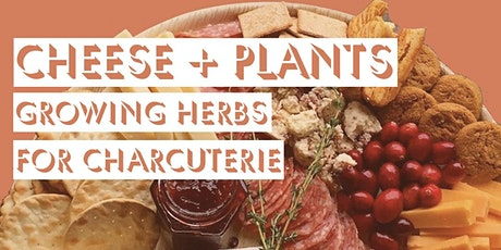 Cheese + Plants: Growing Herbs for Charcuterie tickets