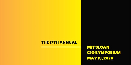 2020 MIT Sloan CIO Symposium tickets