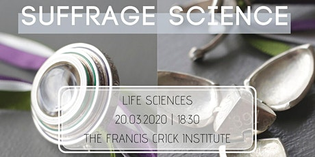 Suffrage Science Awards 2020 - Life Sciences tickets