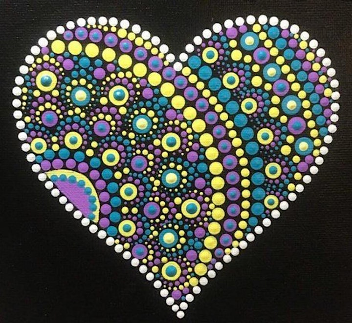Mindful Dotty Art for Wellbeing in April image