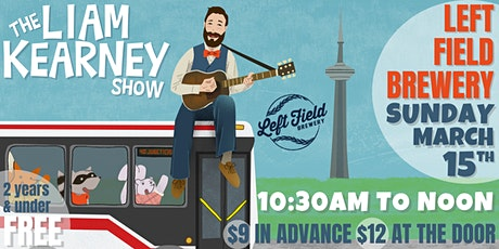 The Liam Kearney Show at Left Field Brewery tickets