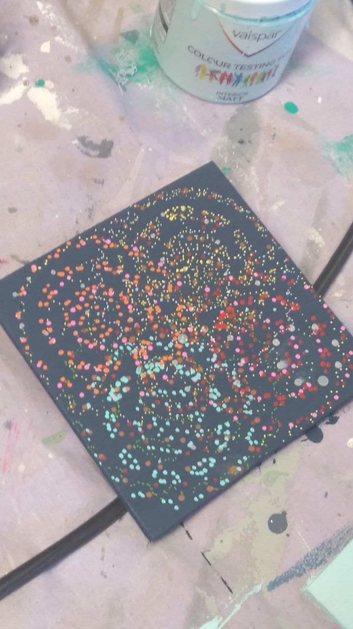 Mindful Dotty Art for Wellbeing image