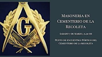 Masonería en el Cementerio de La Recoleta