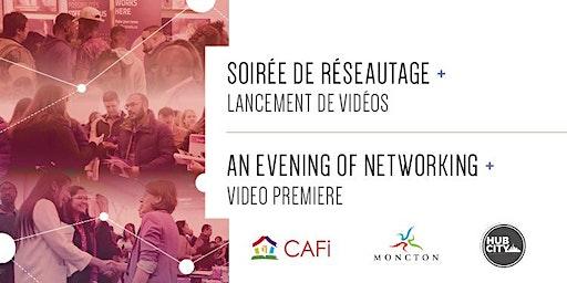 Lancement de vidéos et activité de réseautage / Video Launch and Networking Activity