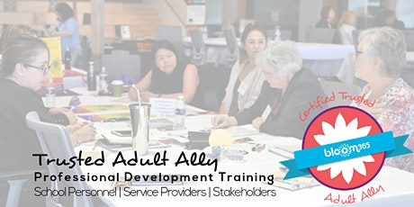 Trusted Adult Ally Training-Preventing and Responding to Teen Dating Abuse tickets
