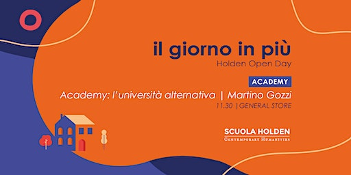 Holden Open Day | Academy: l'università alternativa
