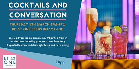 Cocktails and Conversation tickets