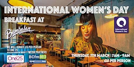 International Women's Day Big Breakfast tickets