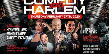 COMEDY UP IN HARLEM tickets