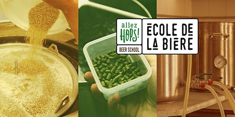 CRAFT BEER brewing workshop (in English) billets