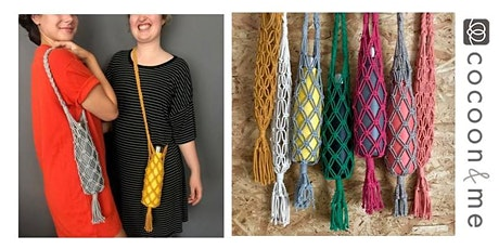 Macramé Water Bottle Bag Workshop - Manchester tickets