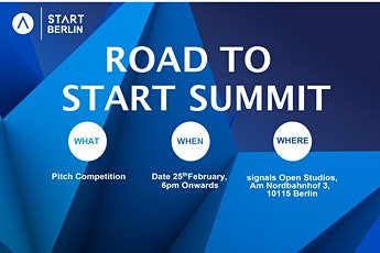 Road To START Summit 2020- Pitch Competition tickets
